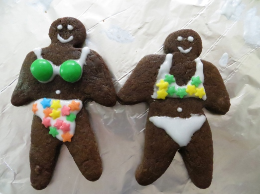 My Brazilian gingerbread beauties!